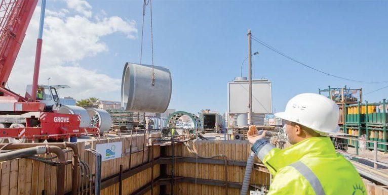 distribution eau Lydec rendement réseau