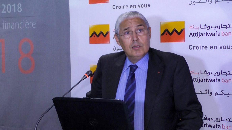 Mohamed El Kettani Attijariwafa bank secteur bancaire