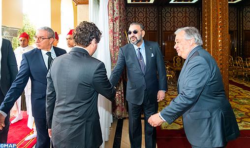 Mohammed VI Antonio Guterres