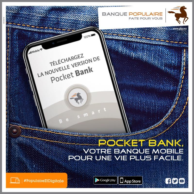 Pocket bank/ Banque Populaire