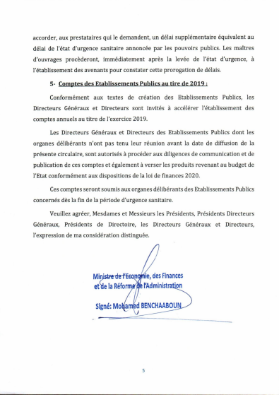 circulaire finances5
