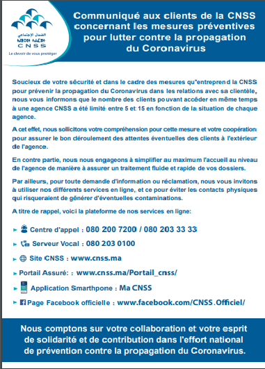 cnss Covid 19