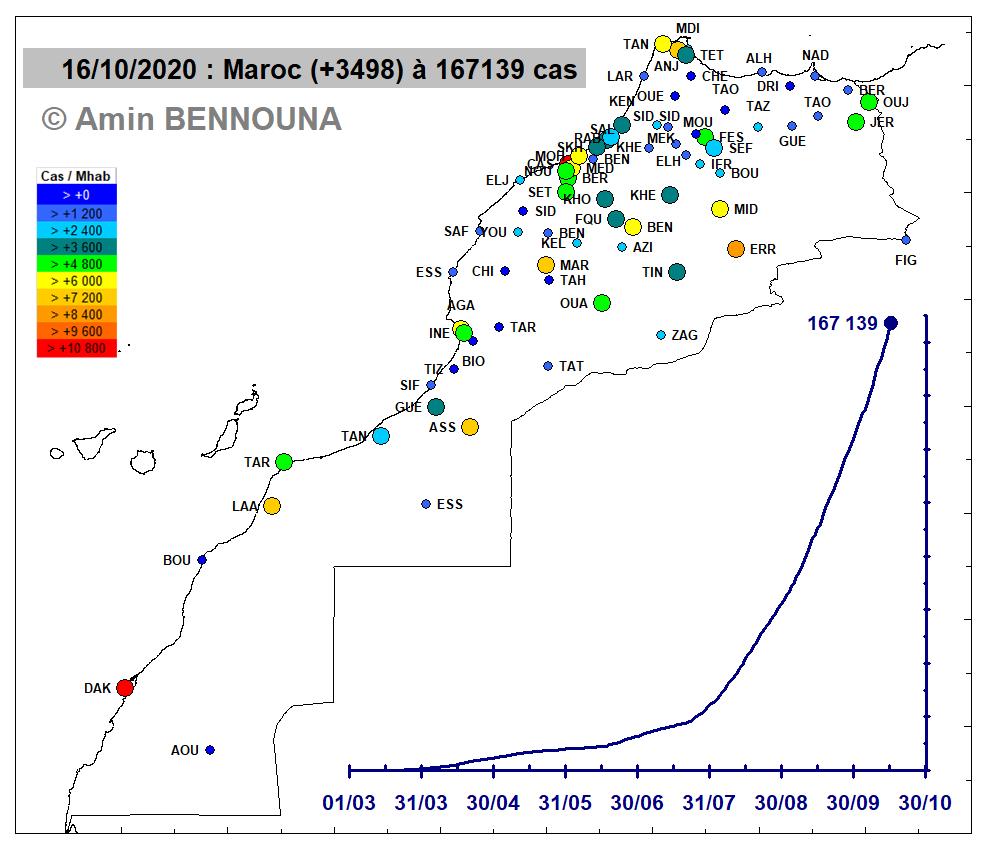 Carte Impact Provinces 20201016
