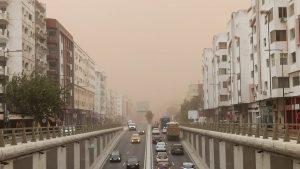 casablanca tempête de sable