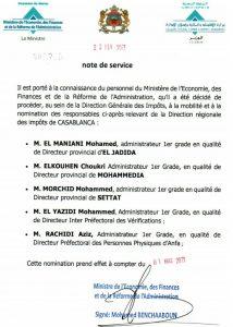 DGI Direction régionale des impôts de Casablanca