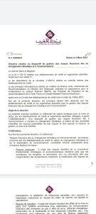 directive BAM verdissement risques financiers changement climatique