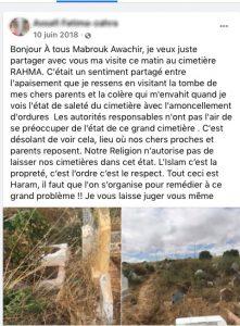 cimetières au Maroc